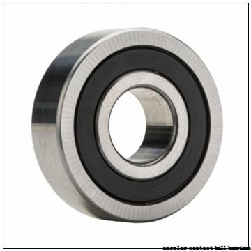25 mm x 128,2 mm x 59 mm  PFI PHU60000 angular contact ball bearings