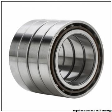 38 mm x 73 mm x 40 mm  NSK 38BWD26E1CA61 angular contact ball bearings