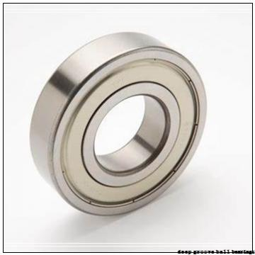 30 mm x 62 mm x 36,51 mm  Timken GE30KRR deep groove ball bearings