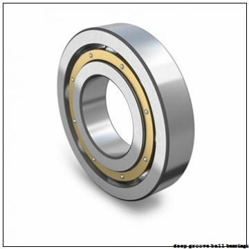 10 mm x 30 mm x 9 mm  ISB SS 6200 deep groove ball bearings