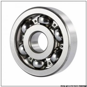 1,984 mm x 6,35 mm x 2,38 mm  NMB RIF-4 deep groove ball bearings